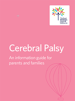 Thumbnail image of booklet cover 'Cerebral Palsy: An information guide for parents'