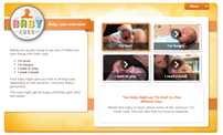 Thumbnail image of baby cues interactive video