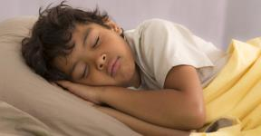 Boy sleeping