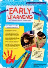 Front page of booklet 'Supporting your child's learning' Ministry of Education