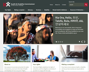 Thumbnail image of HDC website