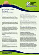 IMAC whooping cough fact sheet