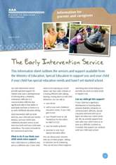 The early intervention service
