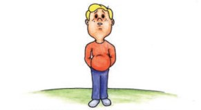 An illustration of Jack - the boy with coeliac disease