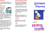 Soiled pants: A guide for parents and children