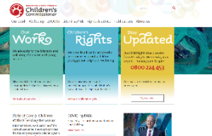 Children's commissioner website