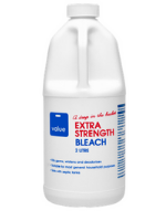 Extra strength bleach bottle