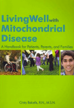 The cover of the living well with mito book