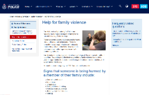 New Zealand police website