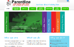 Parentline website
