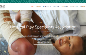 Hospital play specialists website