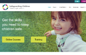 Safeguarding children website