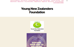 Young New Zealander's website