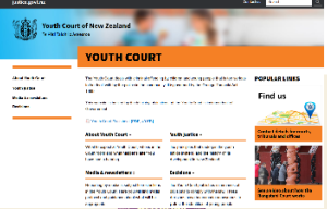 Youth court nz webiste