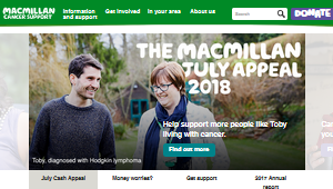 Macmillan Cancer website