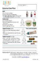 Thumbnail image of eczema plan